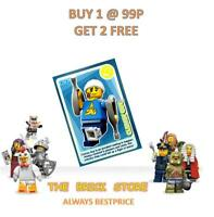 LEGO #104 - CLUMSY GUY - CREATE THE WORLD TRADING CARD - BESTPRICE + GIFT - NEW