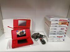 Nintendo Ds Lite Rot mit ovp & spiele