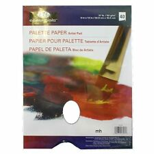 "9"" x 12"" Palette Paper Artist Pad Paint Tear Off Palette Oil royal & Langnickel"