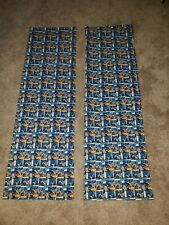 Batman Curtains Windows Handcrafted Cotton Blue