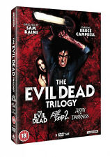 EVIL DEAD TRILOGY DVD MOVIE FILM PART 1 2 3 DEAD BY DAWN ARMY OF DARKNESS
