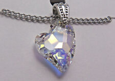 Swarovski Crystal Pendant Wheeler Mfg. 3 Heart zp 720 Fashion Jewelry New