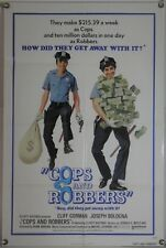 COPS AND ROBBERS FF ORIG 1SH MOVIE POSTER DONALD E. WESTLAKE CLIFF GORMAN (1973)