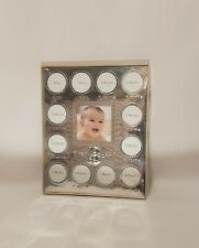 New ListingNew Carter's My First Year Silver Photo Frame holds 13 Pictures Child of Mine