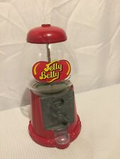 Vintage Jelly Belly Gumball Machine,metal,ornate Front