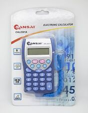 SANSAI Pocket Calculator 8 Digits With Keytone Auto ON/OFF CAL2201