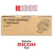 TONER NEGRO RICOH FAX 1160 | 1120L | 115M (412638 · TYPE 1265) ORIGINAL | NUEVO