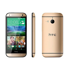"HTC One M8 Mini 2 4G LTE Android SmartPhone 4.5"" Gold Unlocked"