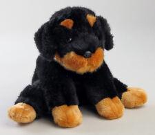 Niedlicher LEOSCO Plüsch-Rottweiler Welpe,Stoff-Hund Plüschrottweiler Plüschhund