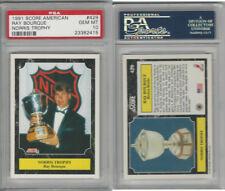 1991 Score American Hockey, #429 Ray Bourque HOF, Bruins, PSA 10 Gem