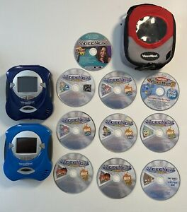 Hasbro Video Now Color Player With 2 Players, Travel Bag & 10 Discs (2004)