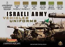 LIFECOLOR ISRAELI ARMY VEHICLES & UNIFORMS cod.CS32