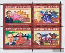 Guinée 4469-4472 Feuille miniature neuf avec gomme originale 2006 transports: de