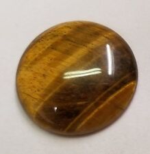 Tiger Eye Round shape flat back High Quality Cabochon 38mm