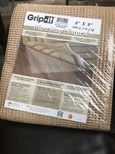Grip-It Ultra Stop Natural 6' x 9' Non Slip Rug