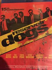Reservoir Dogs Blu-Ray 15th Anniversary Edition Quentin Tarantino Harvey Keitel