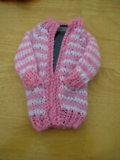 Carefully Hand Knitted Pink & White Mobile Phone Cover