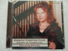 Romantische Werke für Violine Dvorak, Suk, Schumann, Ysaye -Christine Raphael CD