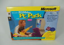 Microsoft ActiMates PC Pack Transmitter and CD Rom for interactive Barney
