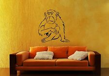 Wall Stickers Vinyl Decal Animal Monkey For Children Nursery ig1637