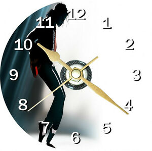 Micheal Jackson Cd Clock Can be personalised