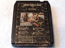 "Crosby, Stills & Nash ""CSN"" 8 Track Tape, 1977, Original Atlantic #TP-19104"