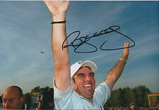 Paul McGINLEY SIGNED AUTOGRAPH 12x8 Photo AFTAL COA Ryder Cup The Belfry 2002