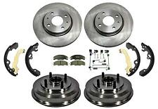 2008 2.0L  Focus Front Rotors & Ceramic Pads & Rear Drums Bearings and Shoes