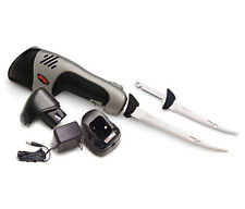 NEW Rapala PGEFR ProGuide Electric Fillet Knife Set Rechargeable