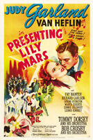 Presenting Lily Mars Judy Garland movie poster print