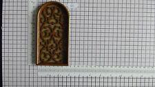 DUTCH CLOCK PART LARGE PLASTIC FRETWORK WINDOW WARMINK CLOCKS