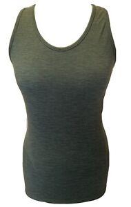 Sweaty Betty Athlete Seamless Workout Vest Size M 12 Dark Forest Green