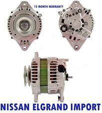 NISSAN ELGRAND IMPORT 12V REMANUFACTURED ALTERNATOR