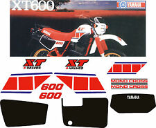 YAMAHA XT 600 43f adesivi sticker aufkleber autocollant XT600