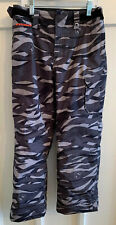 Under Armour Boys Cold Gear Infrared Back/Gray Camo Ski/Snow Pants Youth Small