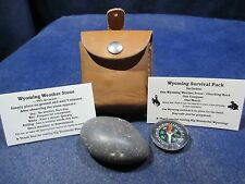 Wyoming Weather Stone / Survival Package