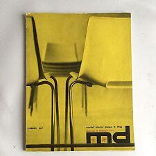 * MD model interior * Magazin 6 / 1966 * Hans Wegner special *