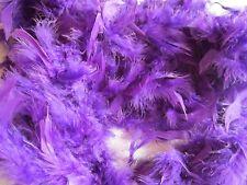 Chandelle Feather Boa Purple 60 grams 72 inch