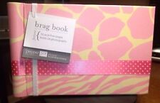 INTRODUCING BABY TOWN GIRL'S GIRAFFE BRAG BOOK 12 ACID FREE PAGES HOLDS 24 PHOTO