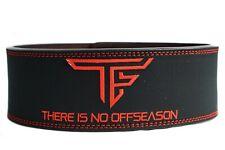 TF 10mm Lever Belt, Black/Red (Rise gym Gear, Alphalete, Gymshark)