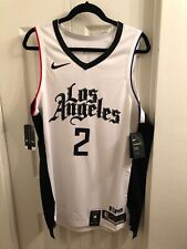 Kawhi Leonard Los Angeles Clippers City Edition Nike Authentic Jersey 48 NWT