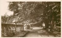 s05761 The Terrace, Haddon Hall, Derbyshire, England RP postcard unposted
