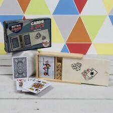 Retro Games Cards and Dice Set Poker Family Fun Card Games BNIB