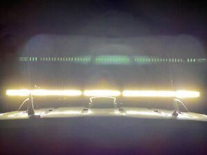 "54"" WHELEN LEGACY GB DUO WECAN SUPER LED LIGHTBAR TRAFFIC ADVISOR MSRP $6264"
