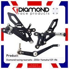DIAMOND RACE PRODUCTS - YAMAHA YZF R6 2010 '10 REARSET FOOTREST KIT