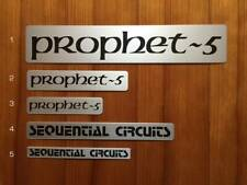 Prophet-5 largest alloy nameplate for Rev. 1 and Rev.2  #1
