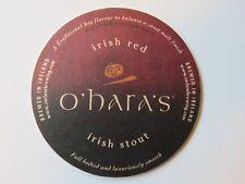 BEER COASTER ~ Carlow O'HARA'S Irish Stout ~ IRELAND ~ Falling Rock Bar COLORADO