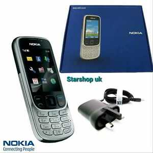 NEW Nokia classic 6303i -SILVER(Unlocked) Mobile Phone+Full Box with Warranty