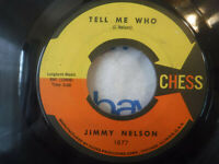 Jimmy Nelson, Tell Me Who / Her Last Bye Bye, Chess 1877 Northern Soul