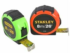 Stanley XMS16TAPE8 Hi-Vis Hi-Viz 8m 26ft Tape Measure STA130405 1-30-405 New